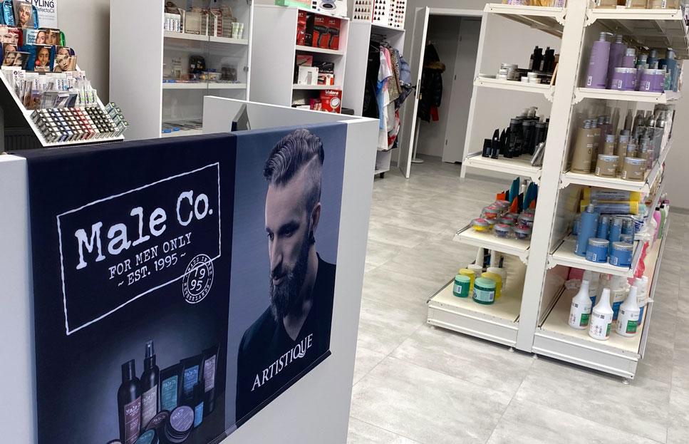 Sklep barberski w Koninie, sklep dla brodacza